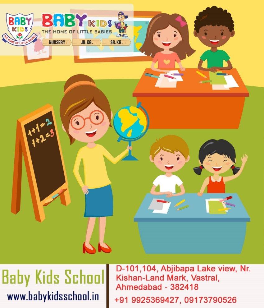 School For Kids in Vastral, Ahmedabad | BabyKids School
