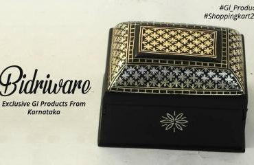 Bidriware Handicraft GI Product Karnataka