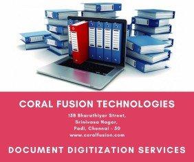 Coralfusion document digitization services