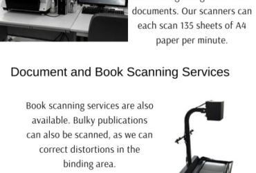 Document and book scanning service in chennai