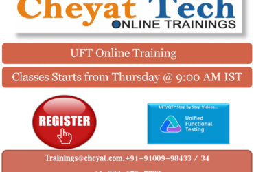 Cheyat Tech – UFT Online Training – QTP Online Training