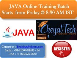 Java Online Training – On Job Support – Cheyat Technologies