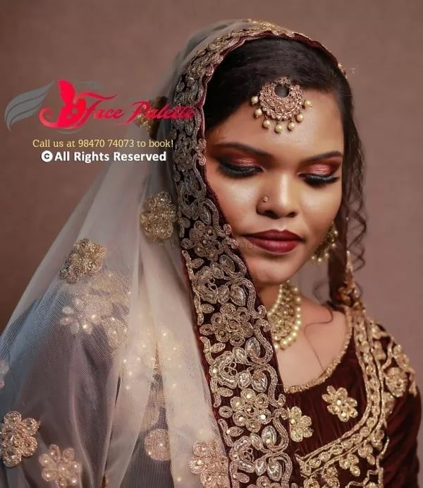 Enhance your Beauty. Muslim Bridal Makeup Routine by Face Palette
