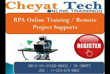 Cheyat Technologies – The best RPA Online Training and BluePrism Online Training