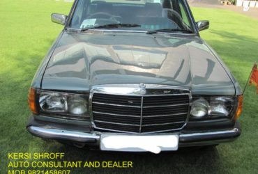 1979 MERCEDES 1223 SERIES 240 D DIESEL KERSI SHROFF AUTO CONSULTANT AND DEALER A