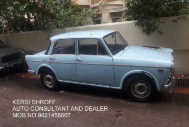 1966 FIAT DELIGHT KERSI SHROFF AUTO CONSULTANT AND DEALER