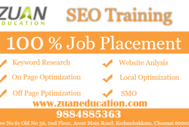 SEO Training Institutes in Chennai