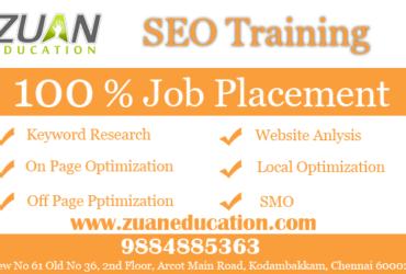 SEO Training Institutes in Chennai
