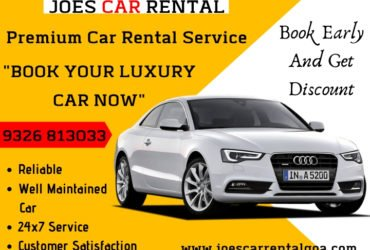 Get The Best Car Rental in Goa By Joes Car Rental