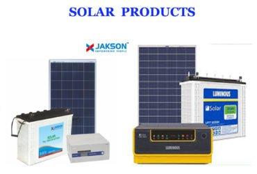 Solar (Jackson/Luminous) Products Distributor Bhubaneswar