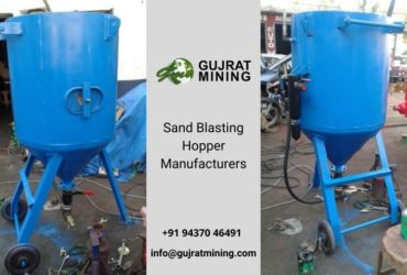 Sand Blasting Machine Manufacturers