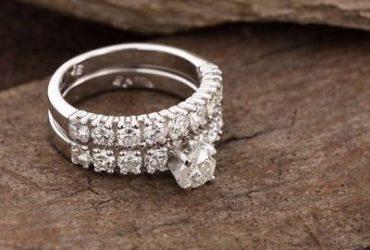 Buy 1 ct Moissanite Rings