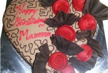 Send Online Chocolate Heart, Valentine Cakes to Vizag