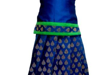 Pattu Pavadai | Traditional dress for girls – Bujuma