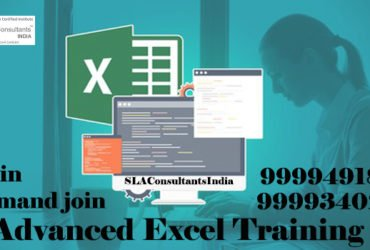 Achieve Your Goals With Advanced Excel Training Course at SLA Consultants Gurgaon