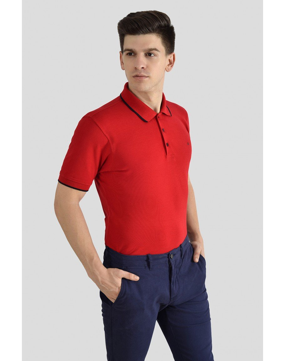 Red Polo t-shirts in Bangalore India