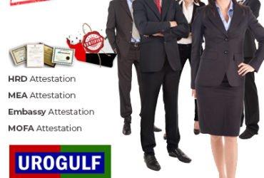 Attestation Services | HRD MEA Embassy MOFA Certificate Attestation