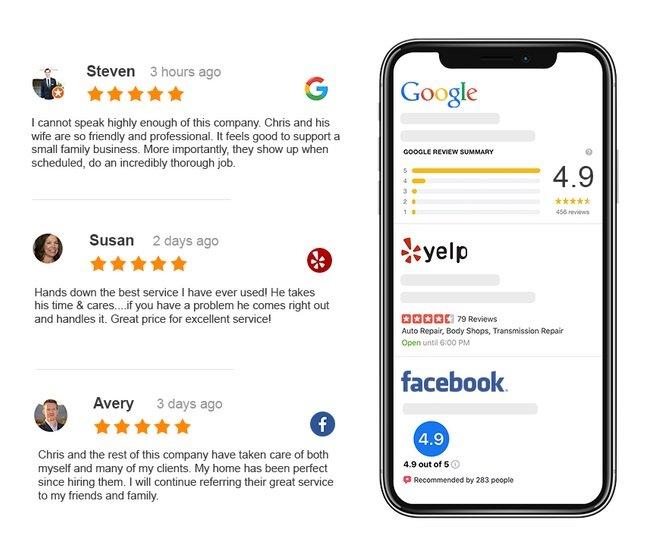 Improve Google Reviews For You Business With Zurvia Review App