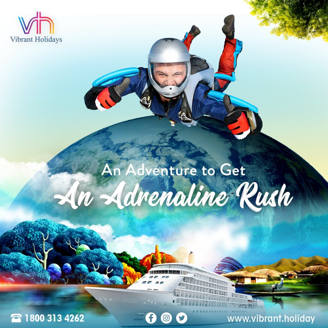Adventure Tour Packages | Adventure Holiday Packages
