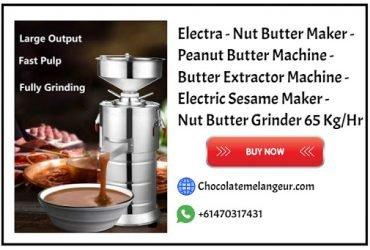 Buy Peanut Butter Machine – Nut Butter Machine @ Chocolatemelangeur