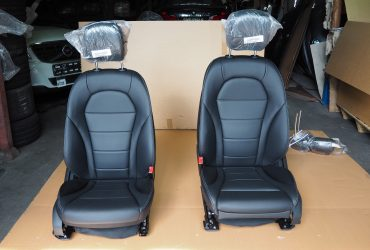 MERCEDES BENZ W205 C180 2017 FRONT SEATS