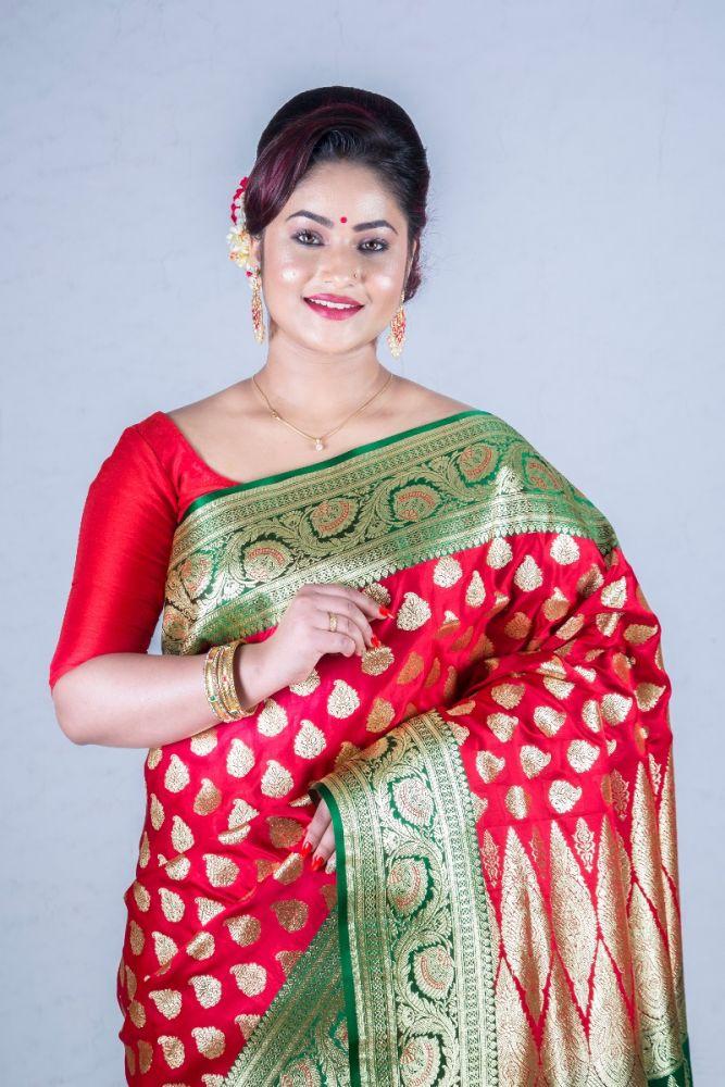 Exclusive Banarasi Silk Sarees online at a budget price