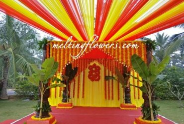Best flower decorators in bangalore | Best Wedding decorators in bangalore | Melting Flowers