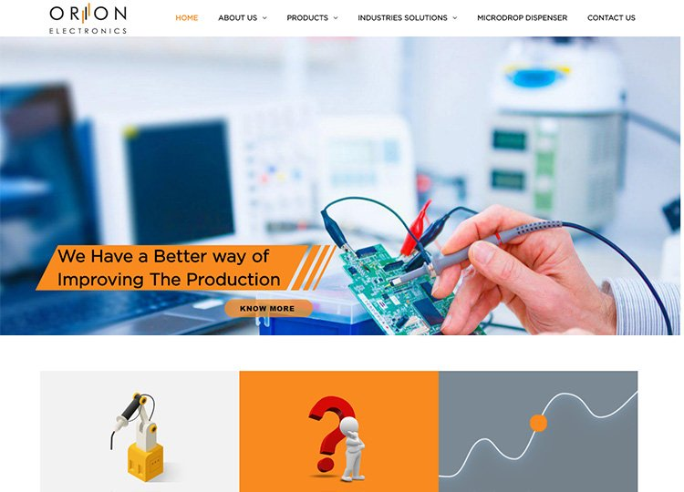 Contact Welding Automation System Provider in India – Orion Electronics