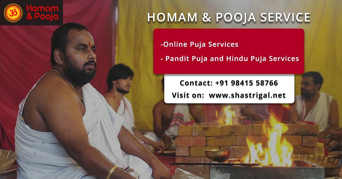 Book Homam Pooja Services Online – Shastrigal