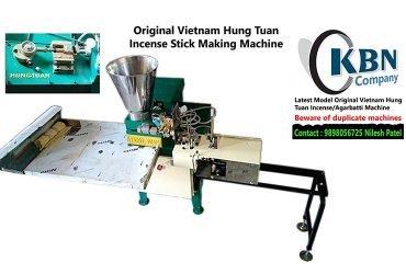 Original VIETNAM HUNG TUAN Incense/Agarbatti Making Machine.