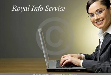Royal Info Service Offered Video ad Job