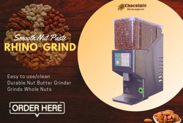 Chocolate Melanger | Rhino Nut Butter Grinder | chocolatemelangeur.com