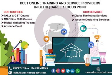 Top 10 Online IT Course Institute in Delhi| career Focus Point