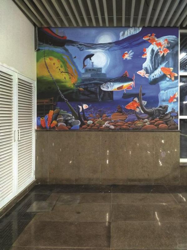 Wall Art | Graffiti Artist | Theme Wall Painting | Wall Murals | Street Art in Delhi NCR