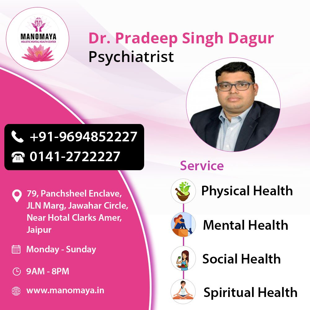 If you have phobia from any thing, get treatment with psychiatrist in Jaipur
