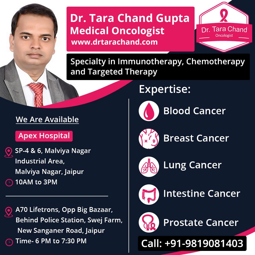 Connect with Cancer Expert Medical Oncologist in Jaipur