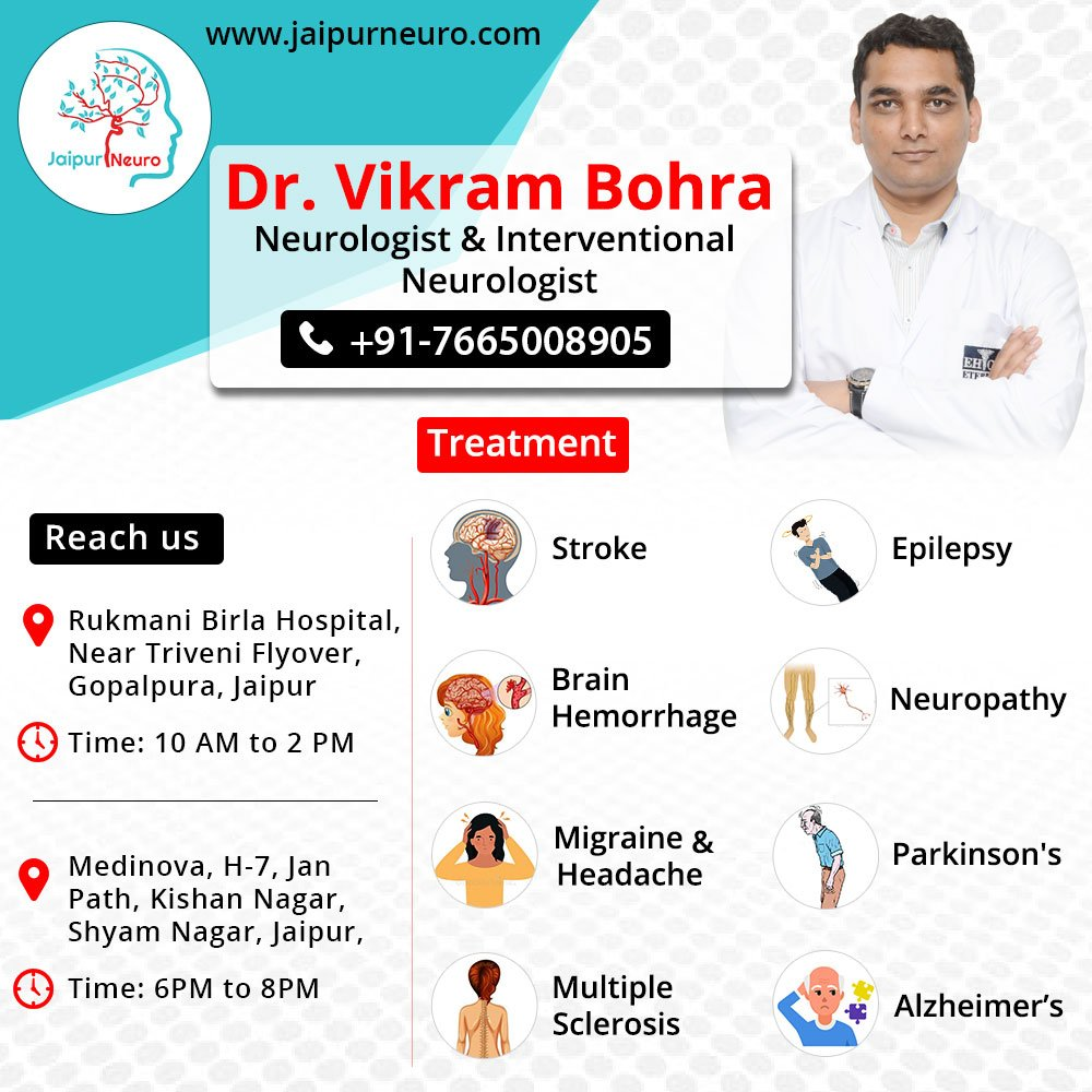 Get effective neurological treatment by Neurologist in India