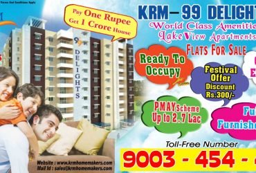 PAY 1 RUPEE GET 1 CRORE APARTMENTS FOR SALE