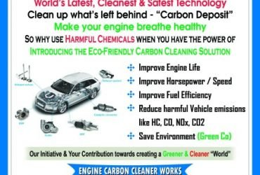 Engine carbon cleaning machine manufacturing and services