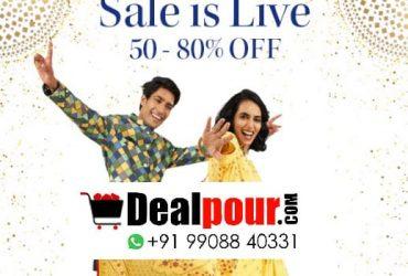 Myntra Diwali Sale 2020: Get 50% – 80% Off