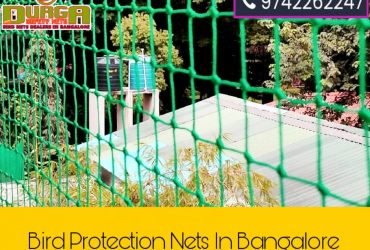 Durga Anti bird nets | bird netting | bird protection nets in bangalore