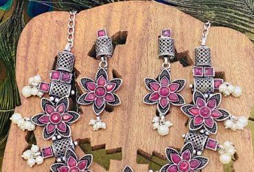 Buy Oxidized Handcrafted Jewellery Online at Myrastore