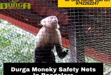 Durga Monkey safety nets | monkey netting for balcony in bangalore