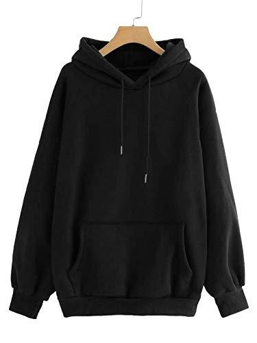 Etpsonline Cotton Stylish Hooded Regular Fit Sweatshirt For Women