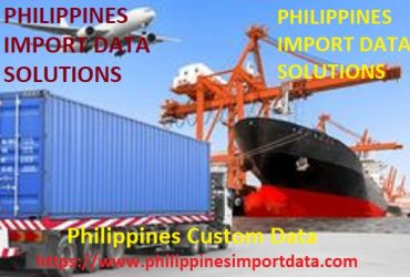 Philippines Custom Data for Tracking Shipments of Philippines