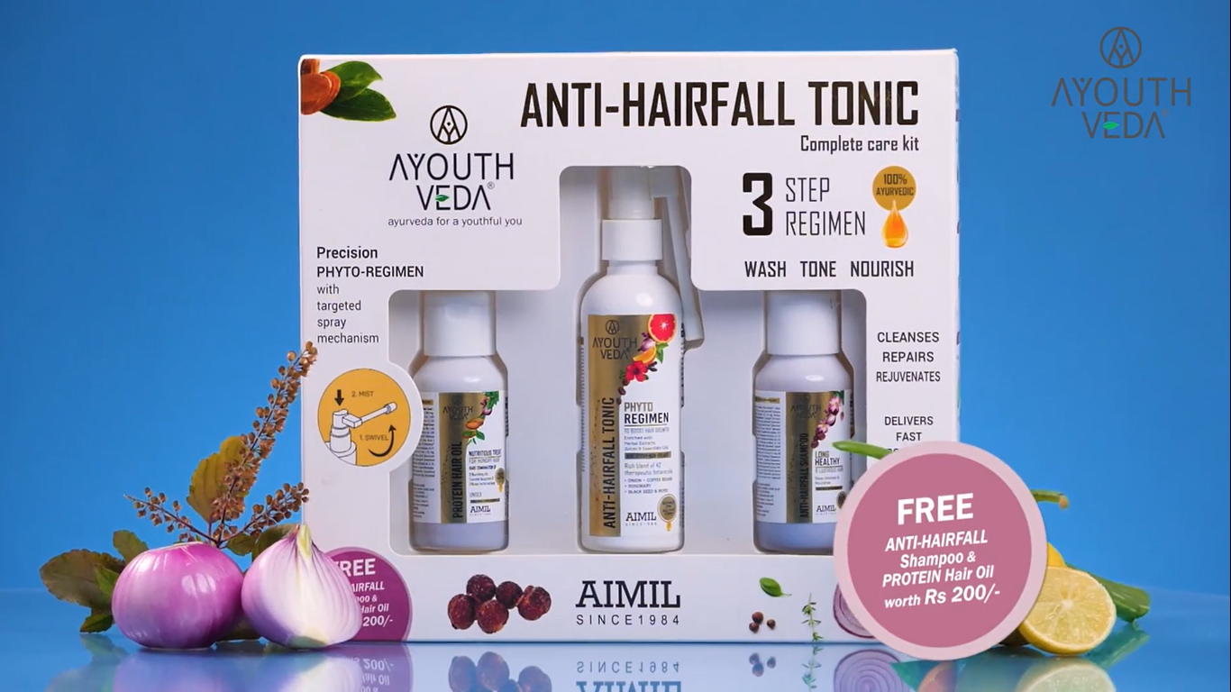 ANTI HAIR FALL COMPLETE CARE KIT,