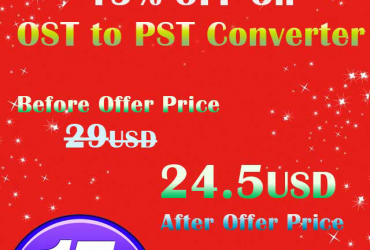 Limited Offer – JSLTools Gives 15% OFF on OST to PST Converter Software