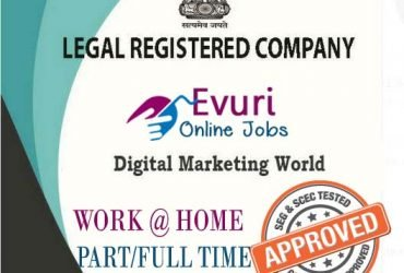 Home Based Data Entry Full Time Or Part Time Jobs