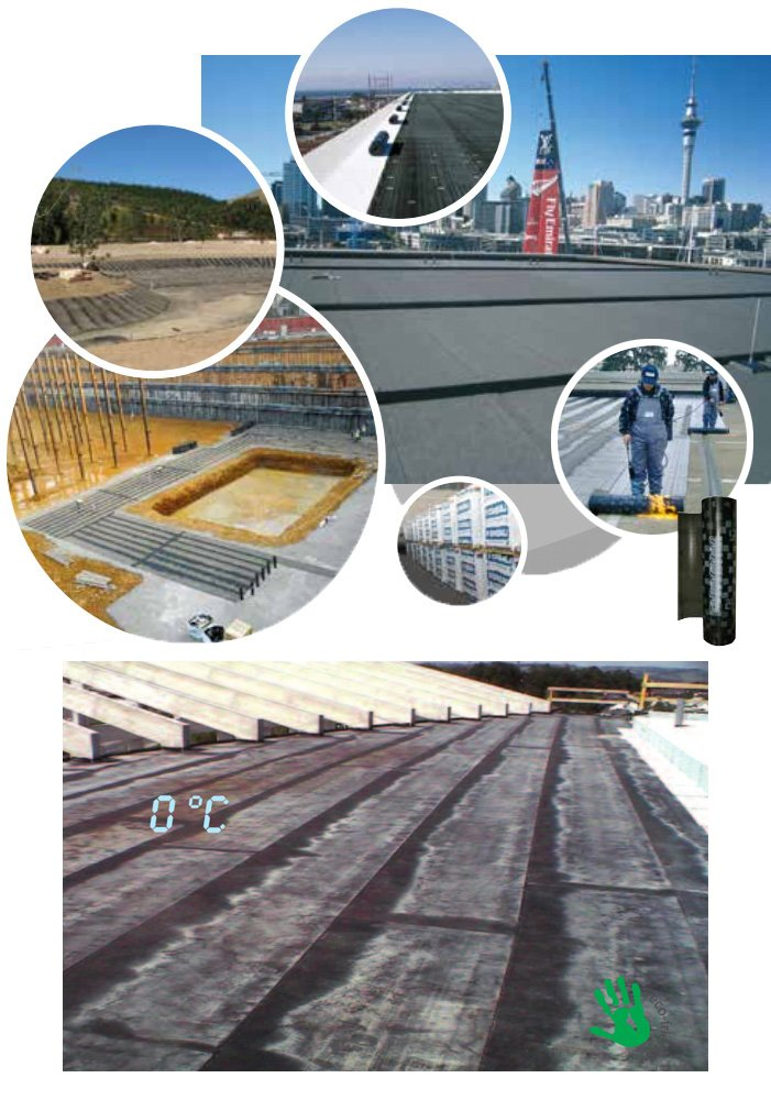 CS GPro Waterproofing Membrane Systems Suppliers India