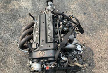 MERCEDES BENZ W201 190E 2.5L 16V M102990 1989 LONG BLOCK ENGINE